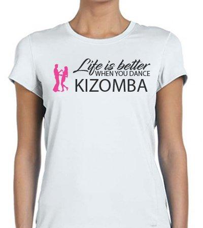 Life is better when you dance Kizomba