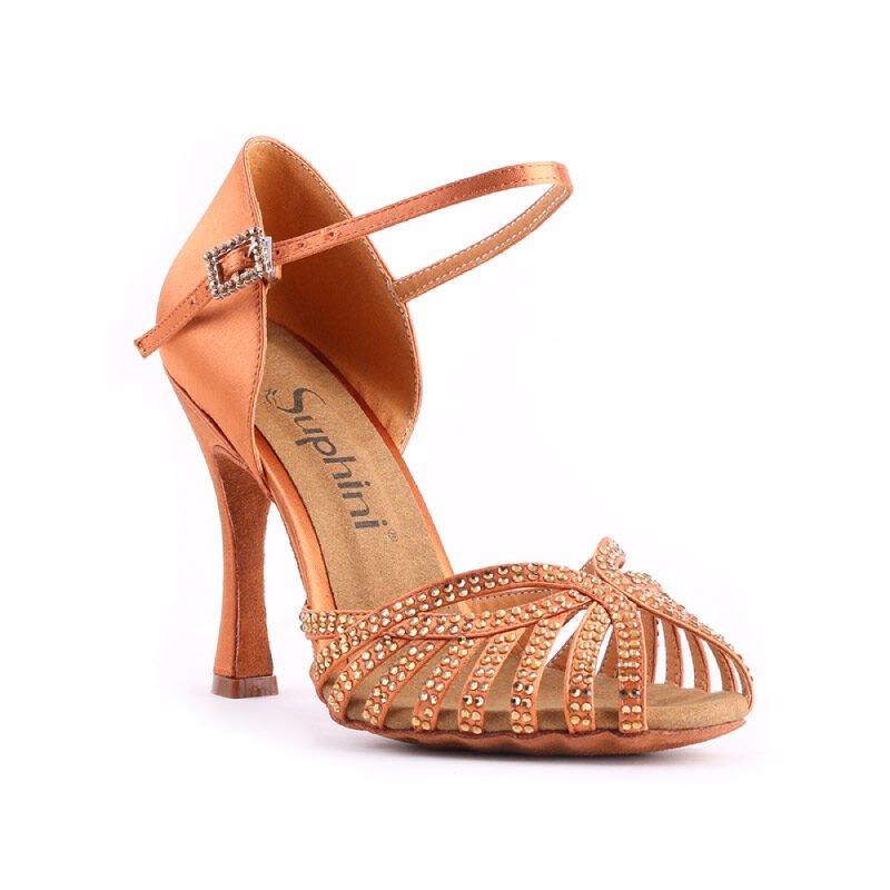 goud salsa schoenen dames salsaschoenen