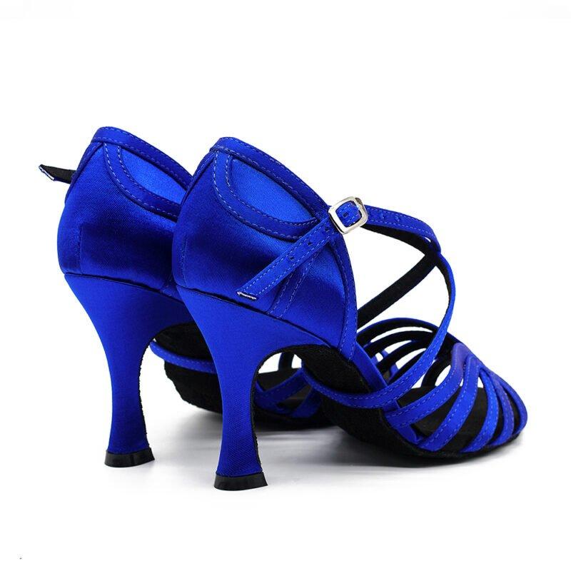 dansschoenen-salsa schoenen dames-salsaschoenen dames-salsaschoenen-salsafever-enschede salsa schoenen kopen-latin dansschoenen-dansschoenen salsa blauw dansschoenen achterkant paar